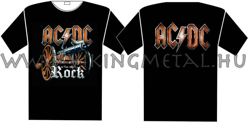 15a02ad1b2b6 Viking Metál :: AC/DC - Rock póló