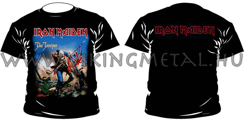Viking Metál    Iron Maiden - The Trooper póló a95cd9b9df