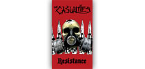 The Casualties - Resistance zászló