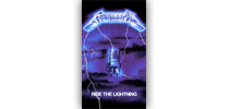 Metallica - Ride the Lightning zászló
